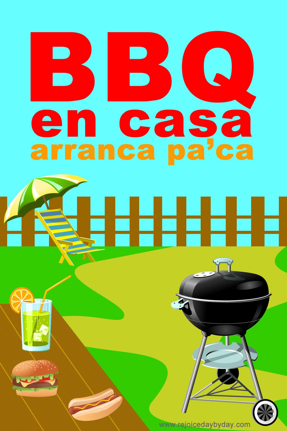 Bbq en casa rejoice daybyday - Casa del barbecue ...