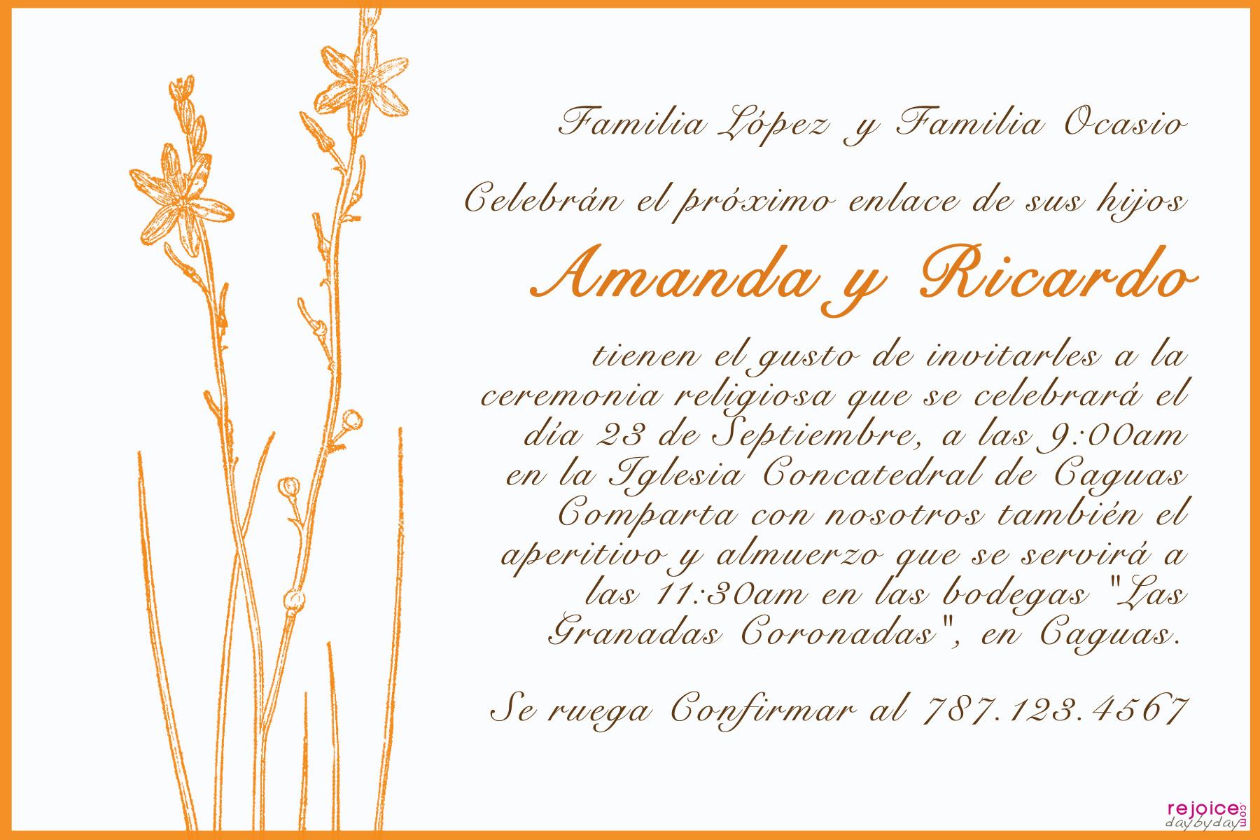 Versos Biblicos Para Invitaciones De Boda